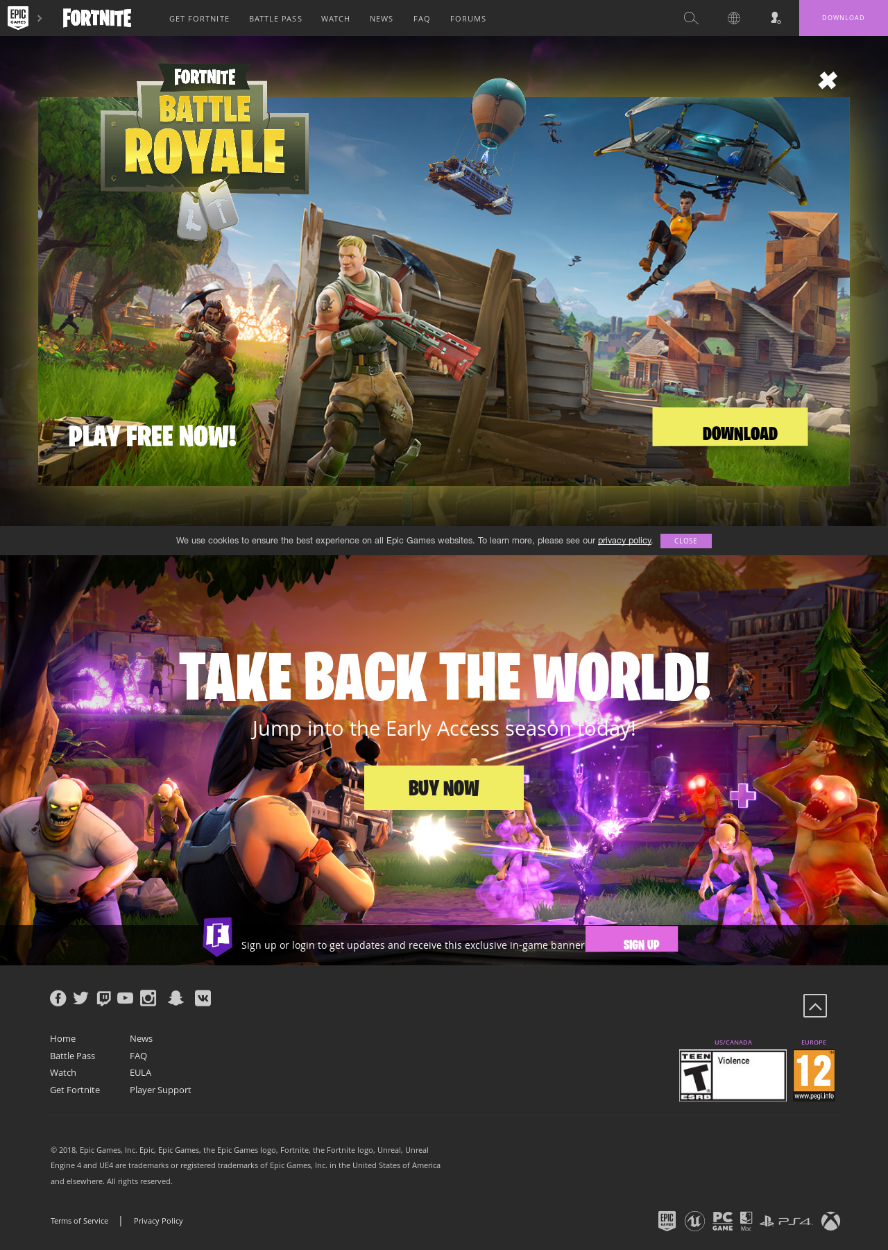 www epic games