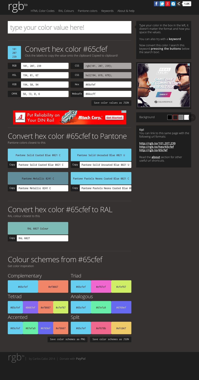 Pantone In Ral convert hex color 64321c to rgb pantone ral hsl hsv hsb json