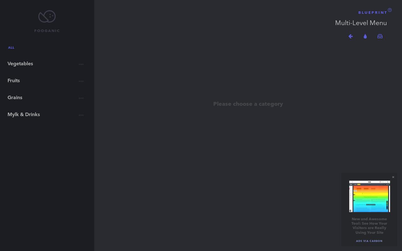 Blueprint mobile friendly multi level menu hypershoot blueprint mobile friendly multi level menu malvernweather Choice Image