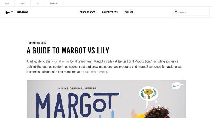 Nike News - A Guide to Margot Vs Lily