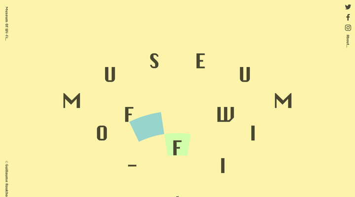 Screenshot of Museumofwifi