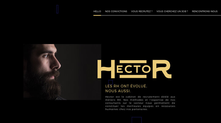 Screenshot of Hector