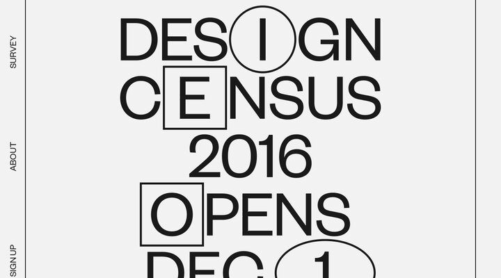 Screenshot of Designcensus