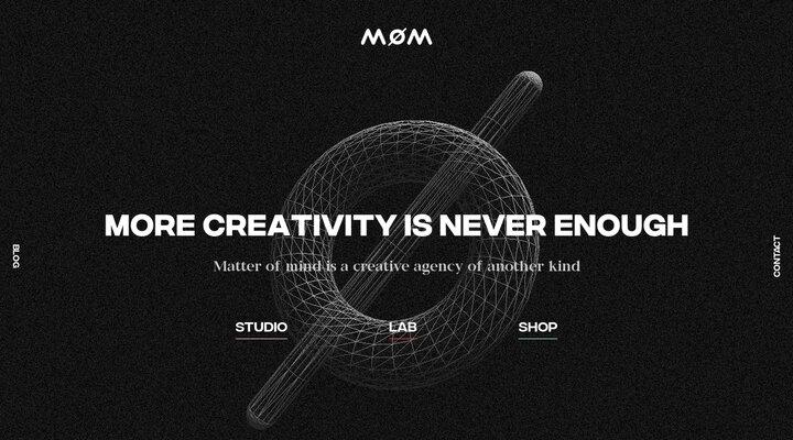 Screenshot of Matter-of-mind