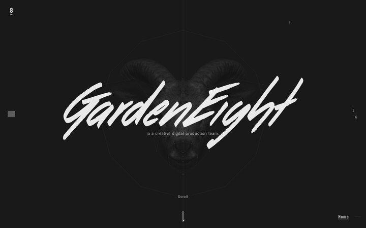 Screenshot of Garden-eight