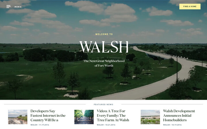 Screenshot of Walshtx